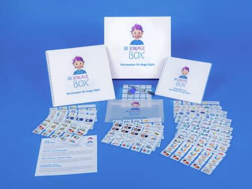Der Wochenplan für kluge Köpfe verhilft Deinen Kinder zu selbstständigen Organisation und mehr Struktur.