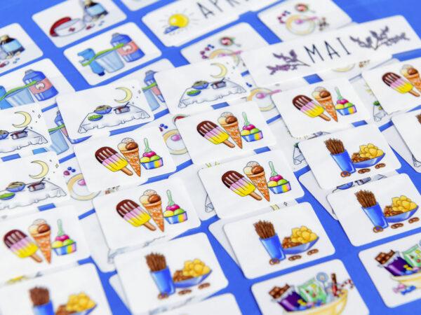 Sticker aus dem Wochenplan für kluge Köpfe